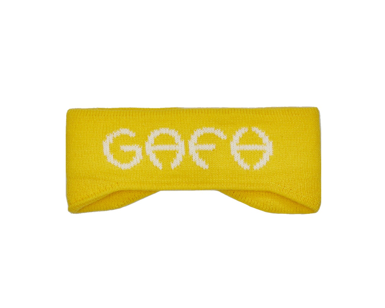 LOGO HEADBAND YELLOW / GAFH