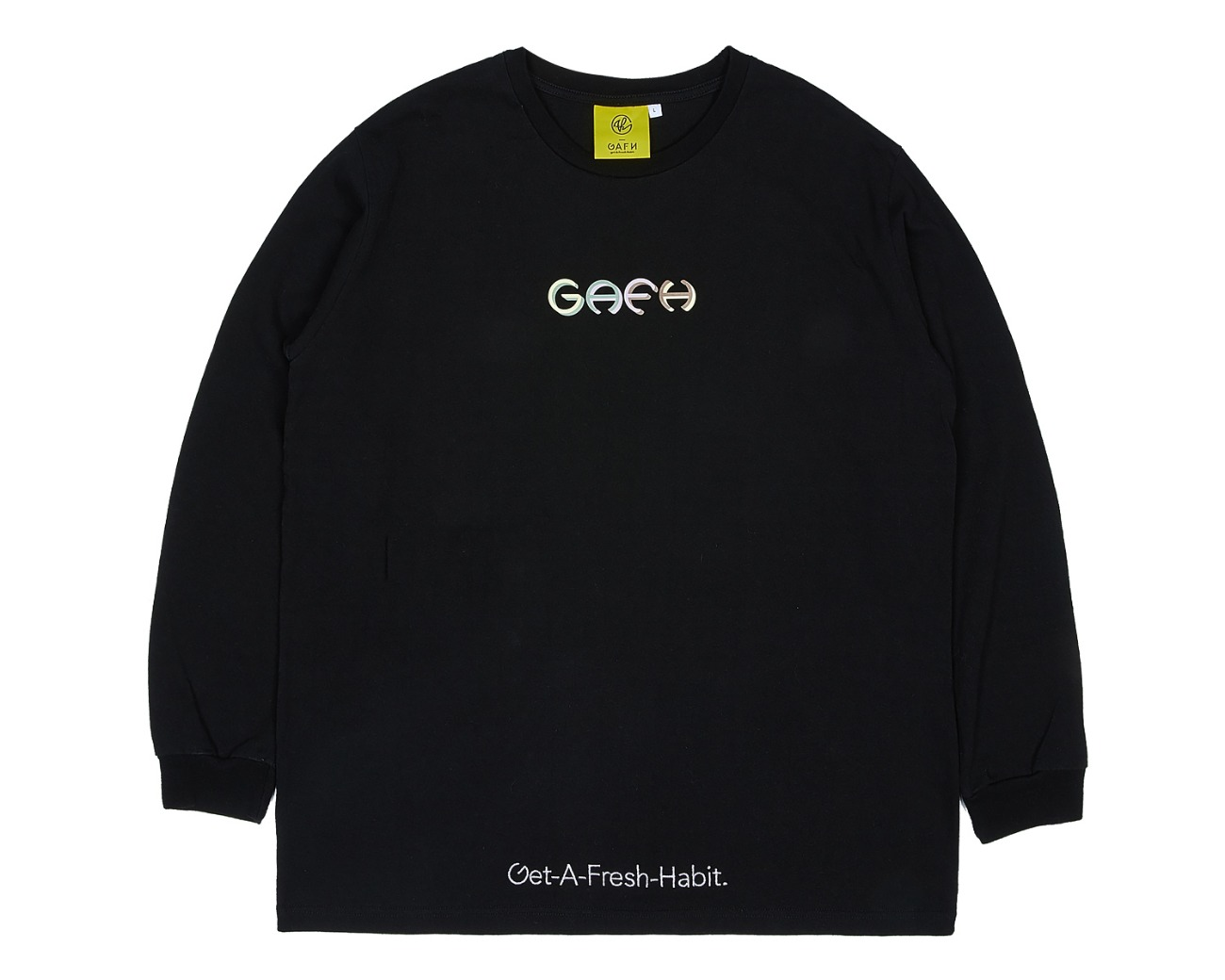 TERRY MOCK NECK BLACK / GAFH