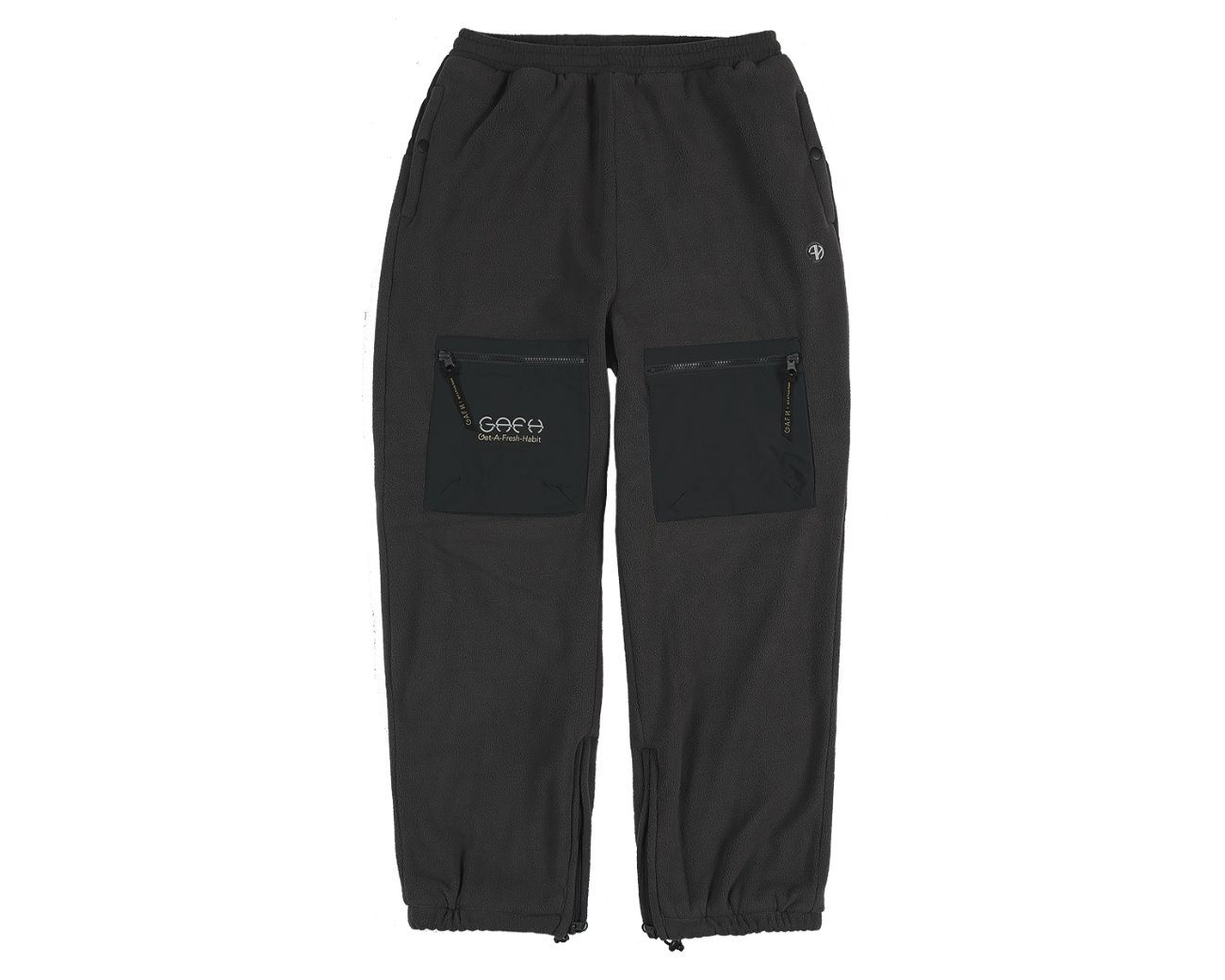 CARGO TRACK PANTS GRAY / GAFH