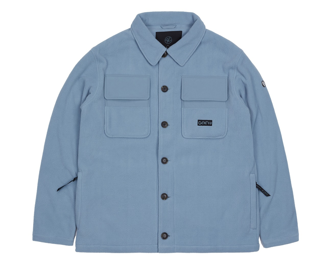 FLEECE SHIRTS SMOK BLUE / GAFH