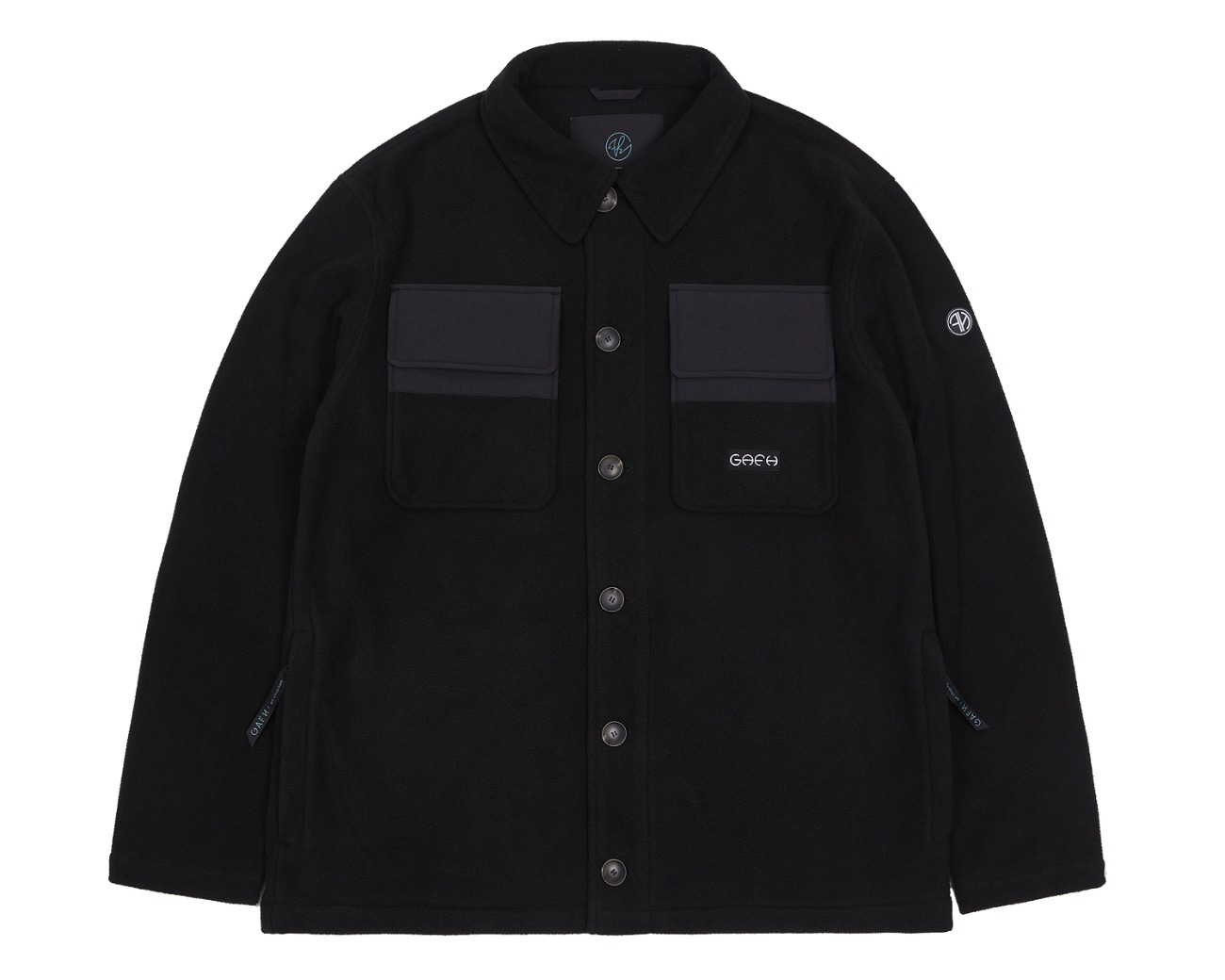 FLEECE SHIRTS BLACK / GAFH